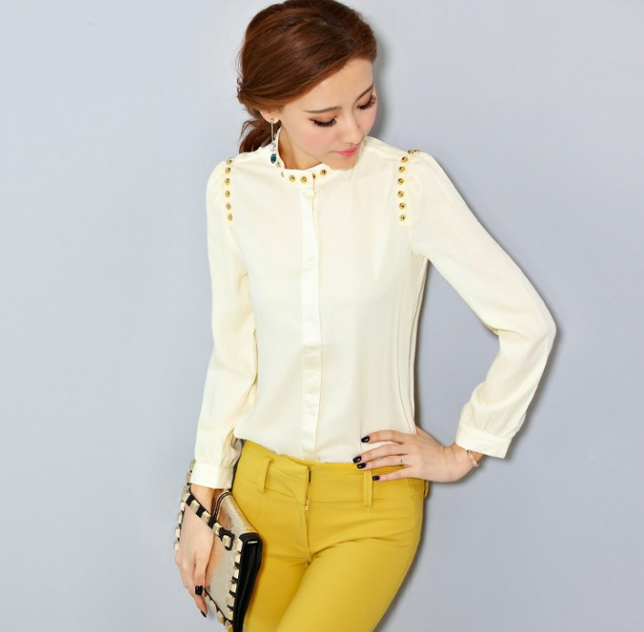 Long-sleeved Blouse 3