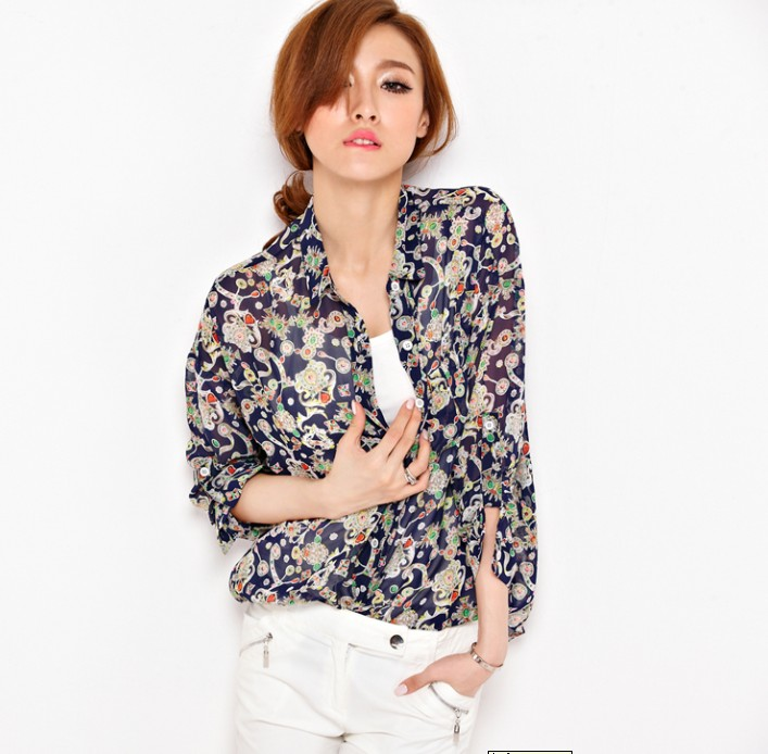 Long-sleeved Blouse 10
