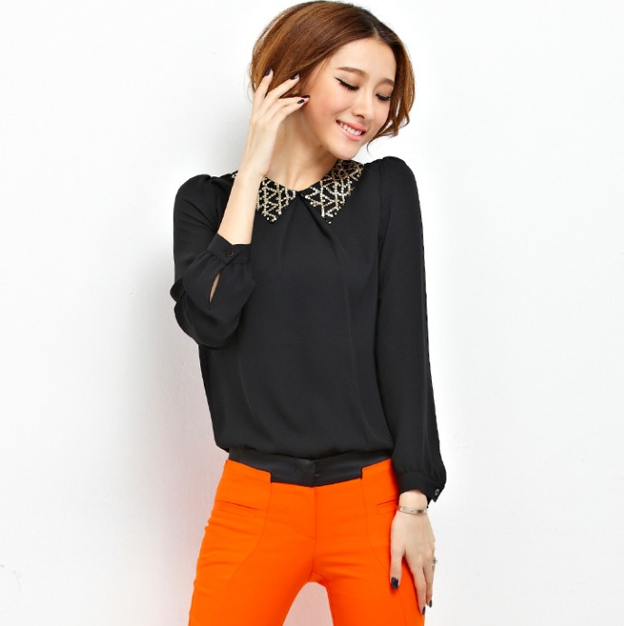 Long-sleeved Blouse 13