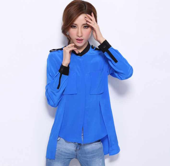 Long-sleeved Blouse 14