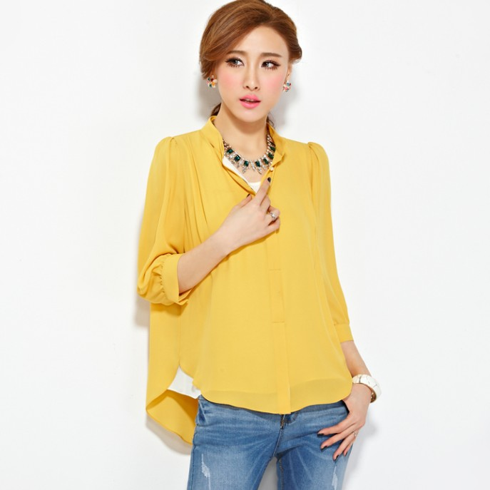 Sleeved Blouse 14