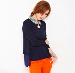 Long-sleeved Blouse 1