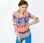 Sleeved Blouse 4
